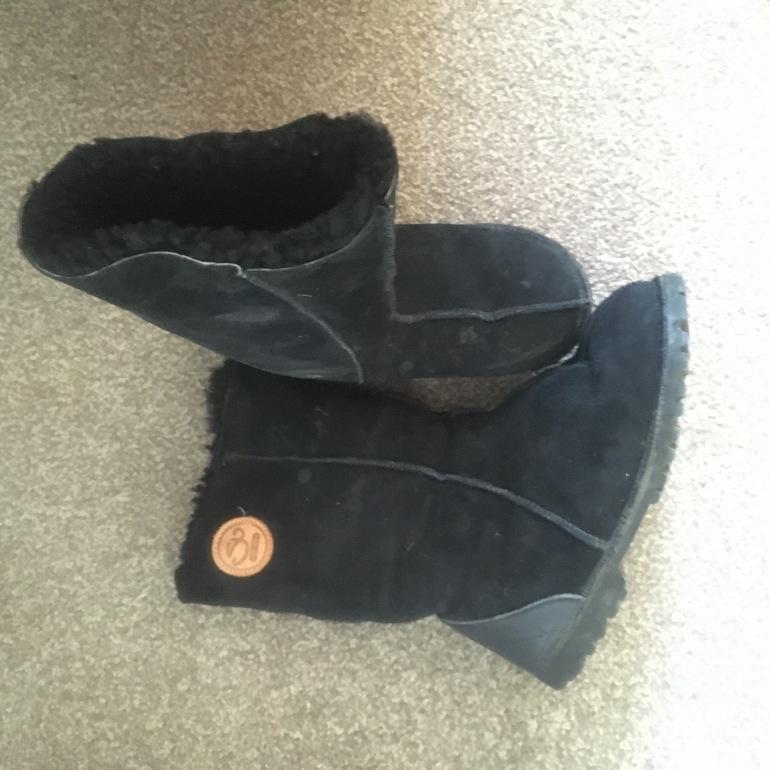 Susie's Sheepskin Boots